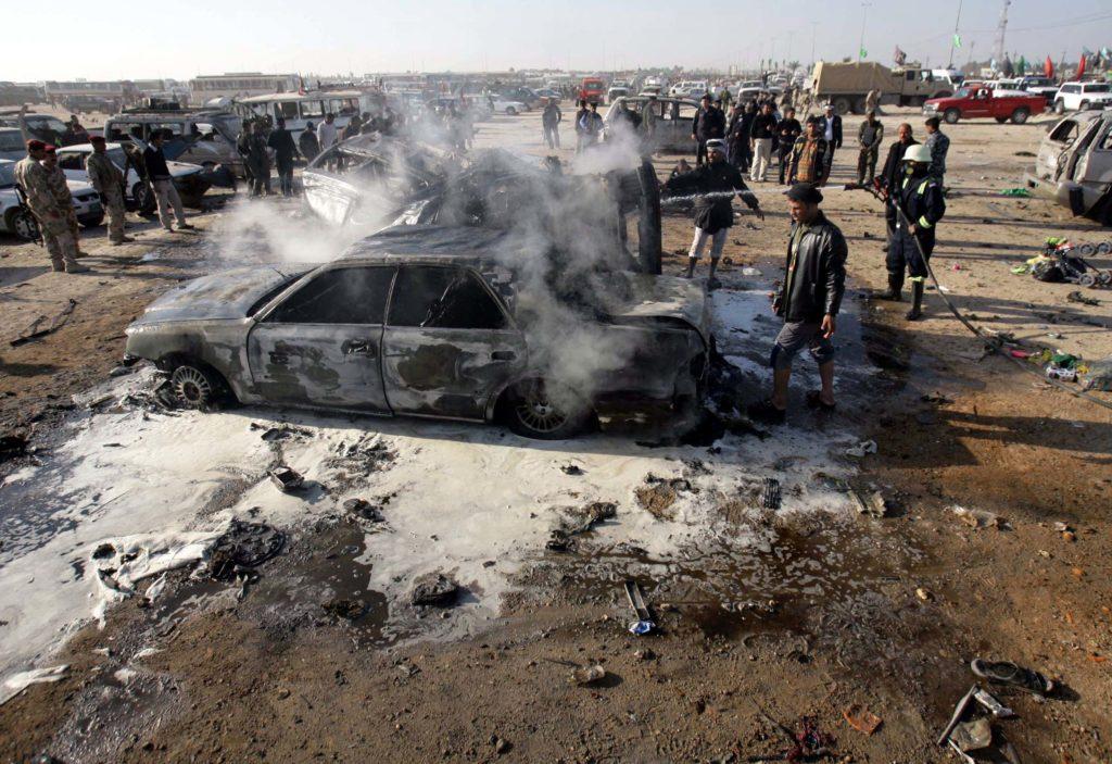 Ιράκ: Εκρήξεις παγιδευμένων αυτοκινήτων – Δέκα νεκροί