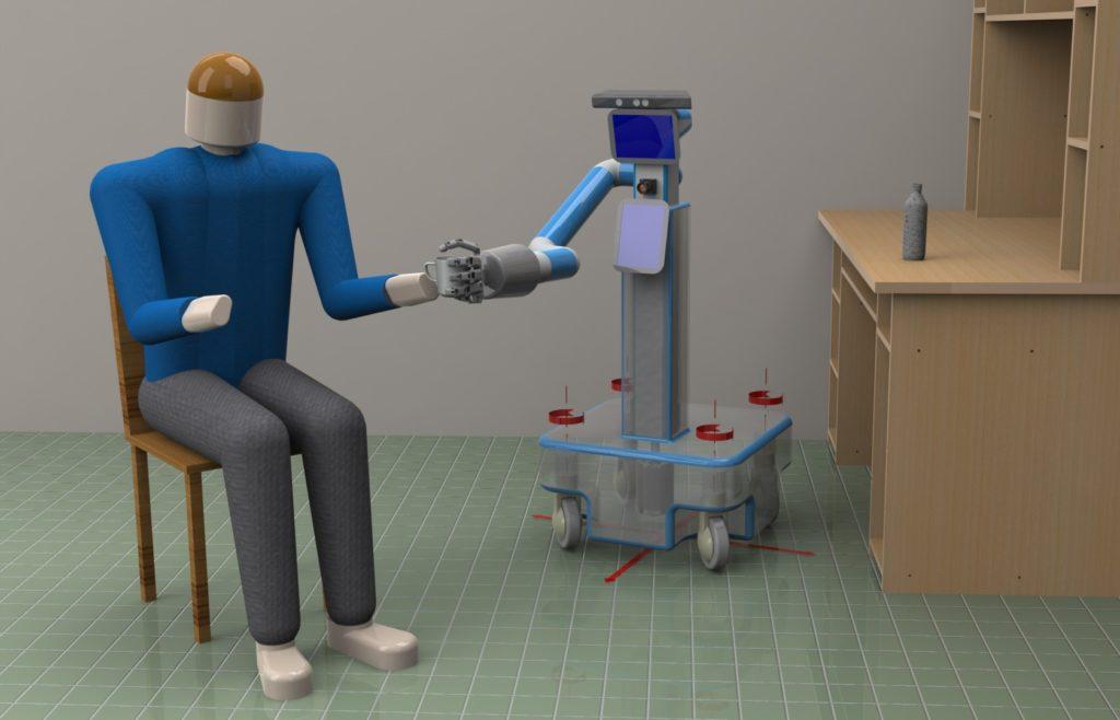 Ρομπότ – βοηθός σε ηλικιωμένους με ήπια νοητική διαταραχή