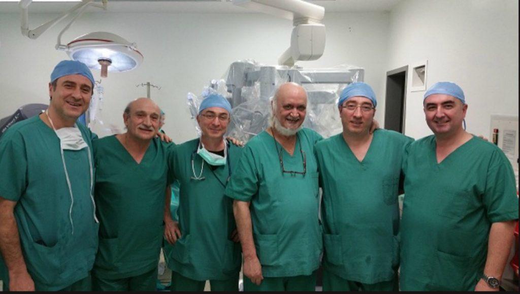 Για πρώτη φορά στην Ελλάδα επέμβαση ρομποτικής λοβεκτομής θώρακα