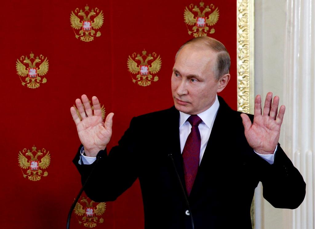 Ρωσία: Στο 80% η δημοτικότητα του Πούτιν