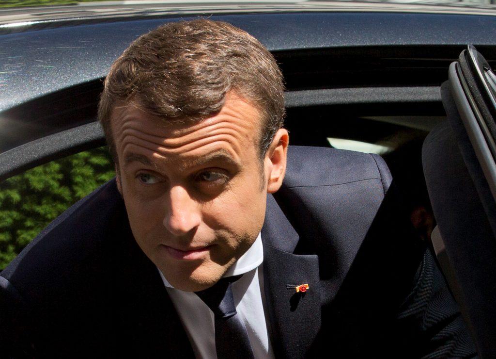Ο Μακρόν θέλει να επανιδρύσει την Ευρώπη