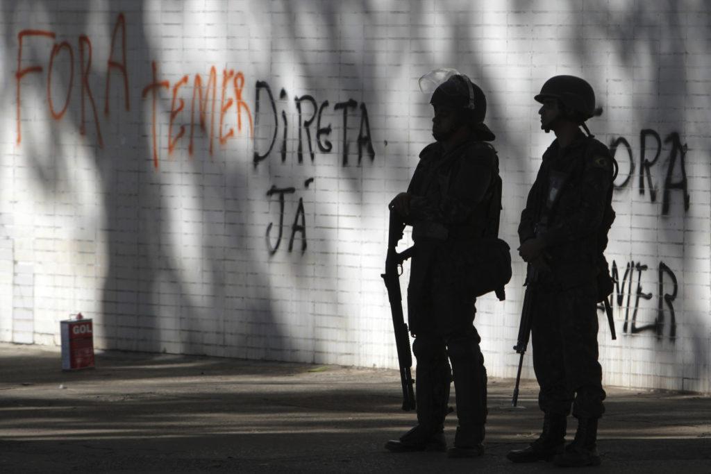 Βραζιλία: Ανακλήθηκε το διάταγμα ανάπτυξης του στρατού