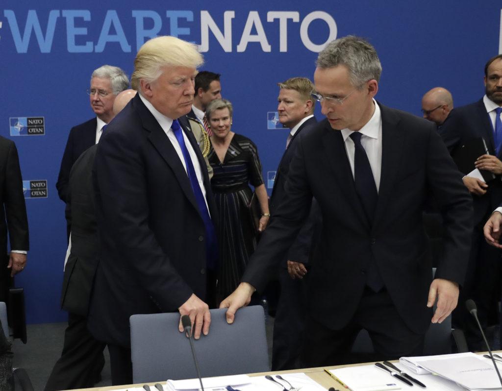 Τραμπ: Πληρώστε για τη ΝΑΤΟϊκή άμυνα