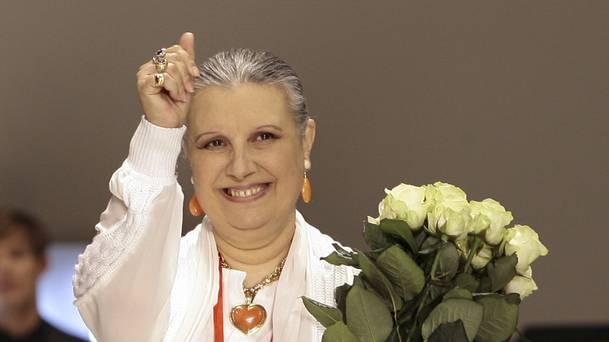 Πέθανε η γνωστή σχεδιάστρια μόδας Laura Biagiotti