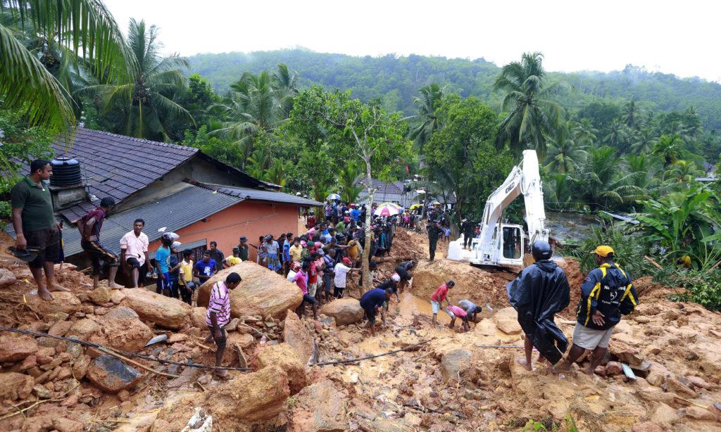 Σρι Λάνκα: Τουλάχιστον 92 νεκροί και 110 αγνοούμενοι από φονικό μουσώνα