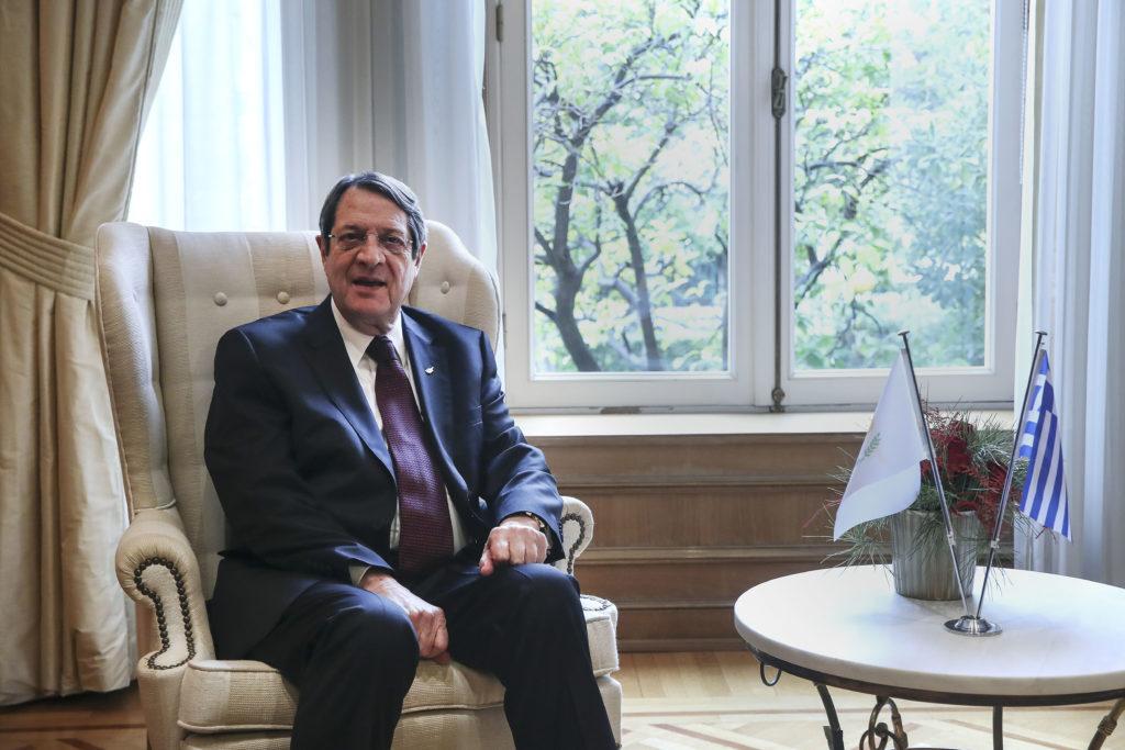 """Αναστασιάδης: Δεν θέλω """"πρόοδο"""" στο Κυπριακό, αλλά λύση του"""