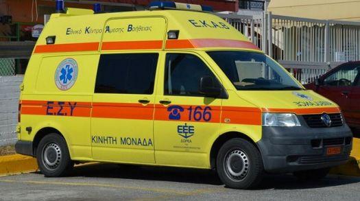 Μεσολόγγι: Έμεινε με ένα ασθενοφόρο – Τα άλλα δύο είναι στο …συνεργείο