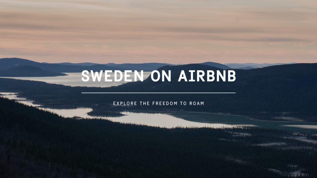 Η Σουηδία καταχωρήθηκε… ολόκληρη στο Airbnb