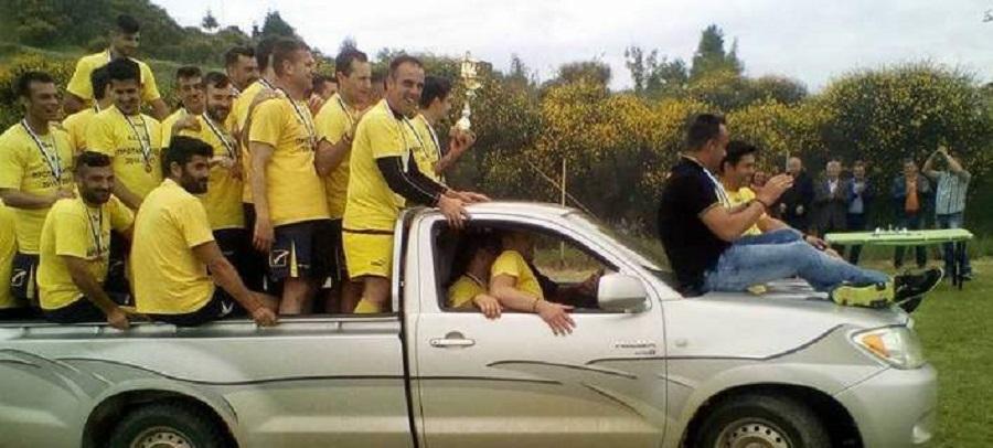 Ο πιο απίστευτος ποδοσφαιρικός πανηγυρισμός: Έκαναν τον γύρο του θριάμβου σε… Datsun! (Video)