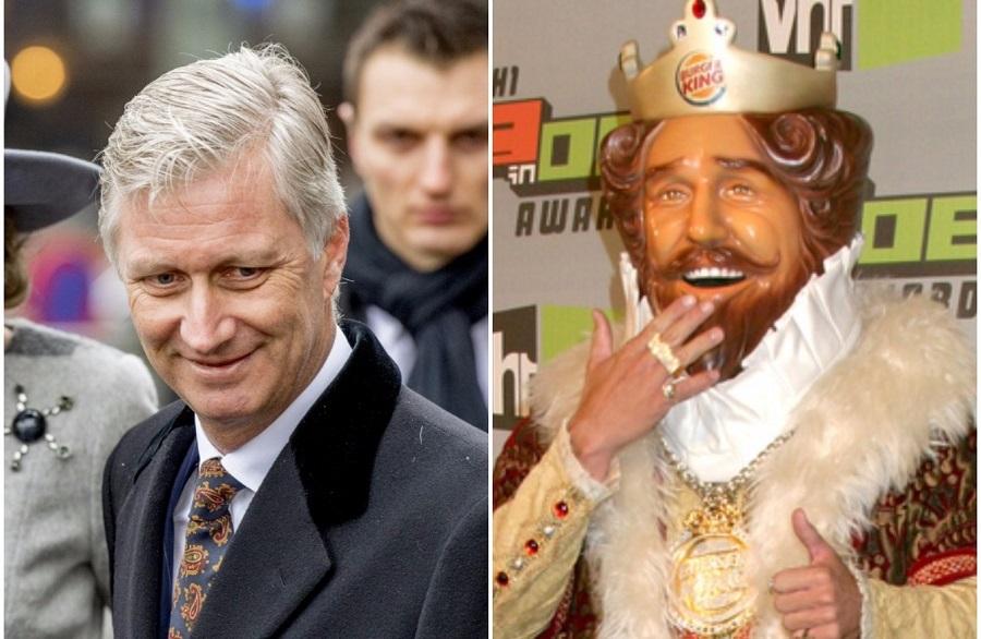 «Βασιλική» διαμάχη στο Βέλγιο μεταξύ Φιλίππου και… Burger King