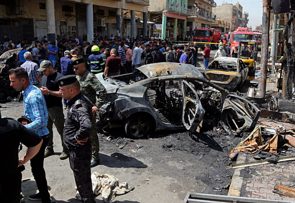 Ιράκ: Δύο αιματηρές επιθέσεις – Ανάληψη ευθύνης από τον ISIS (Photos)