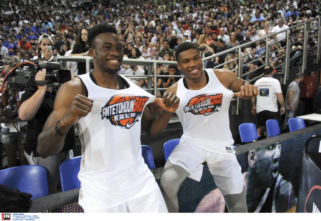 Μπάσκετ: Με δωρεάν βραχιολάκια στους Αντετοκούνμπο