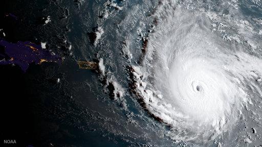 Συγκλονιστικές εικόνες από τον τυφώνα Ίρμα –  (Video)