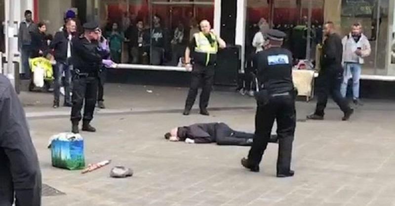 Συναγερμός στο Μπέρμιγχαμ: Συνελήφθη άνδρας που κρατούσε μαχαίρι