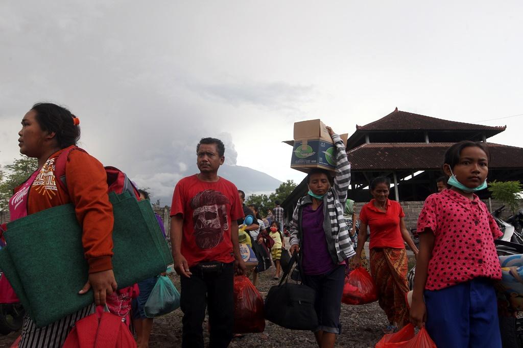 Μπαλί: Έκρηξη του ηφαιστείου Αγκούνγκ – ακυρώθηκαν δεκάδες πτήσεις