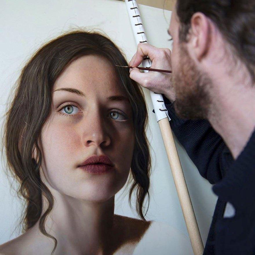 Ιταλός ζωγράφος ξεπερνά τον ρεαλισμό της φωτογραφίας (Photos)