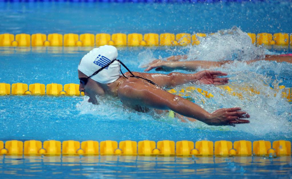 Πανελλήνιο ρεκόρ η Ντουντουνάκη στα 50μ. πεταλούδα