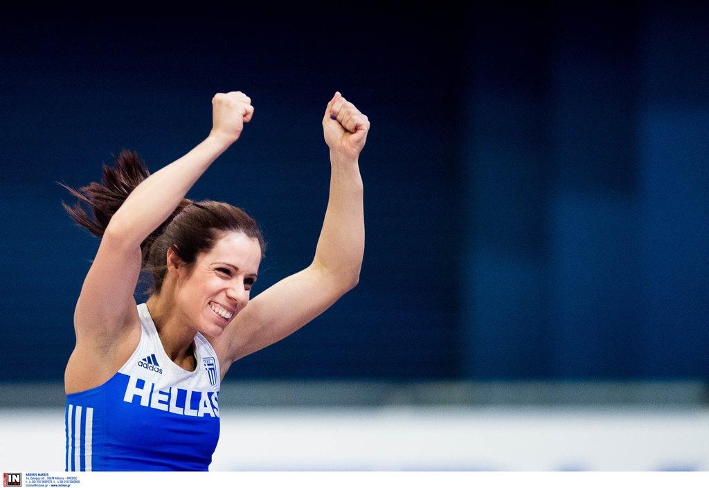 Χάλκινο μετάλλιο για την Κατερίνα Στεφανίδη στο Παγκόσμιο Πρωτάθλημα Κλειστού Στίβου