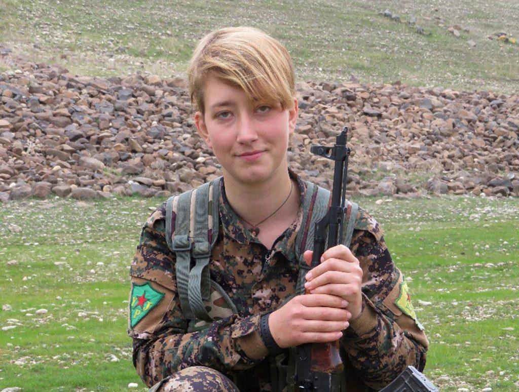 Βρετανή που πολεμούσε με τους Κούρδους σκοτώθηκε στο Αφρίν