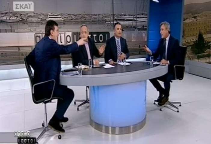 Παραλήρημα Πορτοσάλτε με βαριές εκφράσεις κατά του Βέττα: «Είσαι τραμπούκος» – «Είσαι επαγγελματίας προβοκάτορας» (Video)