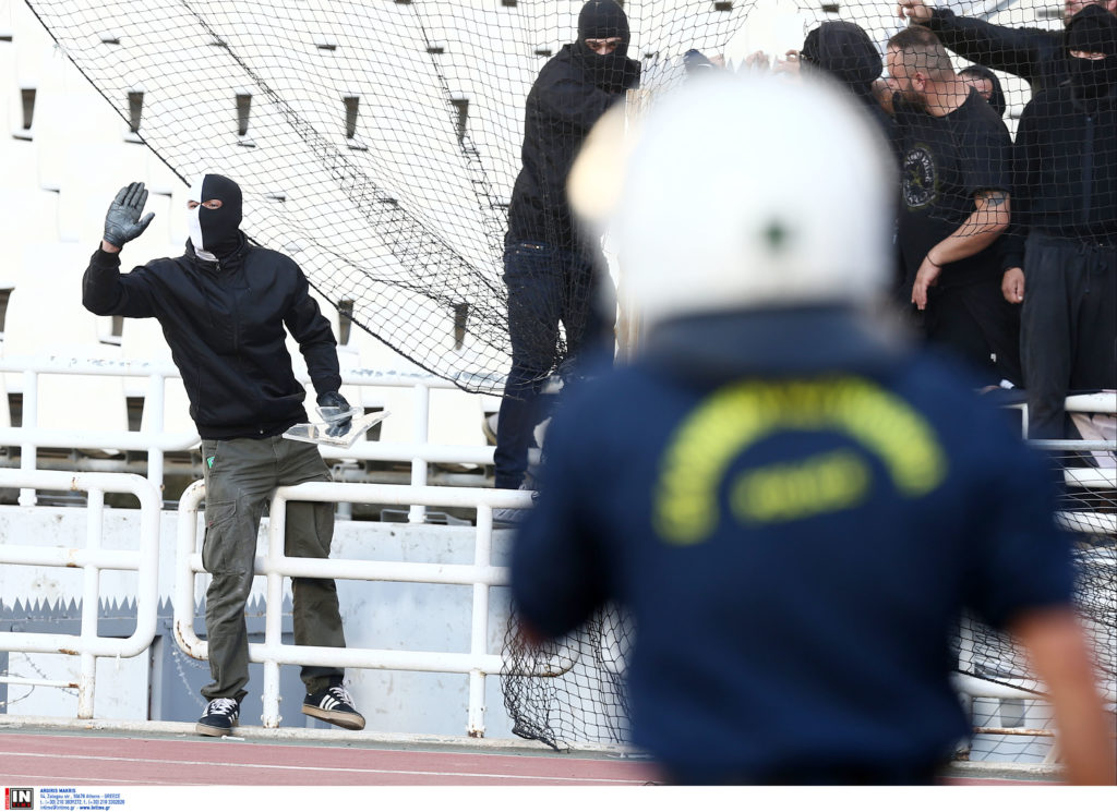 ΕΛΑΣ: 14 συλλήψεις στο ΟΑΚΑ για πρόκληση επεισοδίων και κλοπή του… κυλικείου