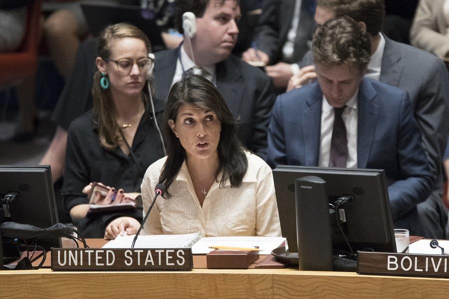 Προκλητική δήλωση της Νίκι Χέιλι: Το Ισραήλ επέδειξε… αυτοσυγκράτηση στη Γάζα
