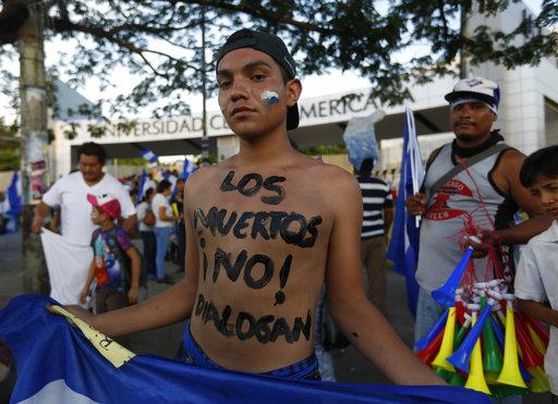 Νικαράγουα: Πάνω από 250 νεκροί και 1.800 τραυματίες στις αντικυβερνητικές διαδηλώσεις