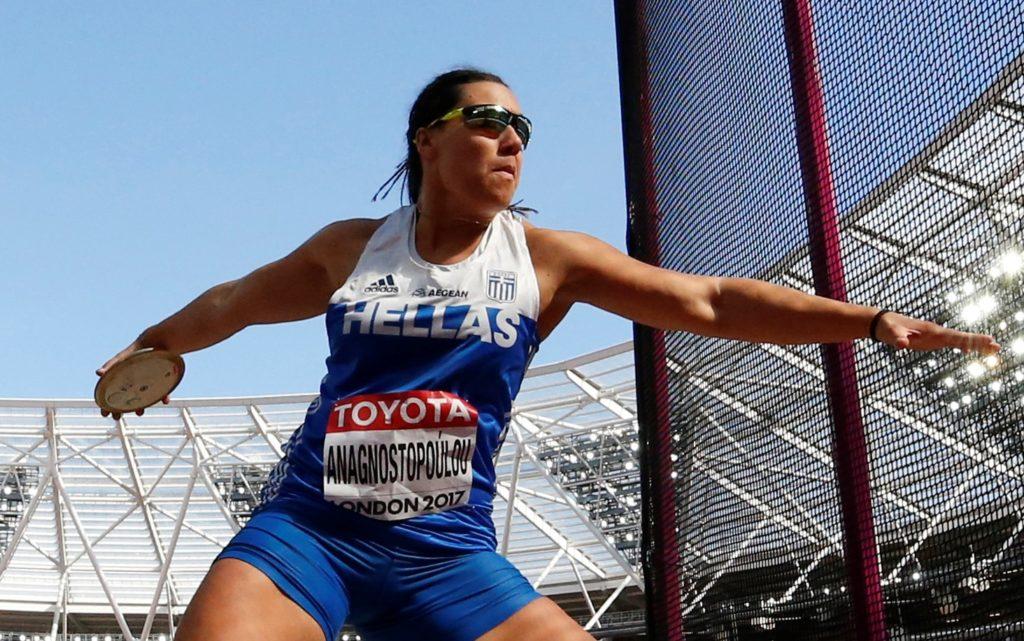 Στον τελικό της δισκοβολίας η Αναγνωστοπούλου – Στα ημιτελικά 110μ εμπόδια ο Δουβαλίδης