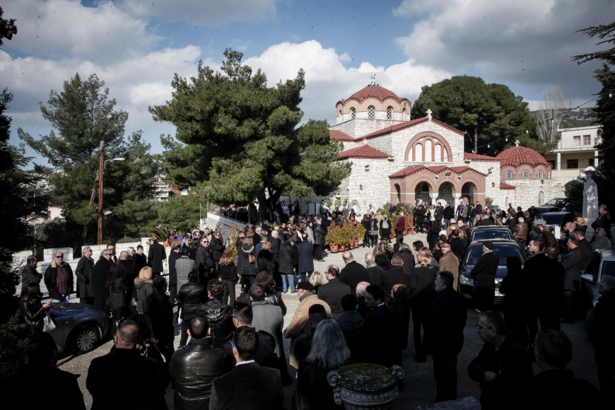 Κηδεύτηκε ο Θέμος Αναστασιάδης (Photos)