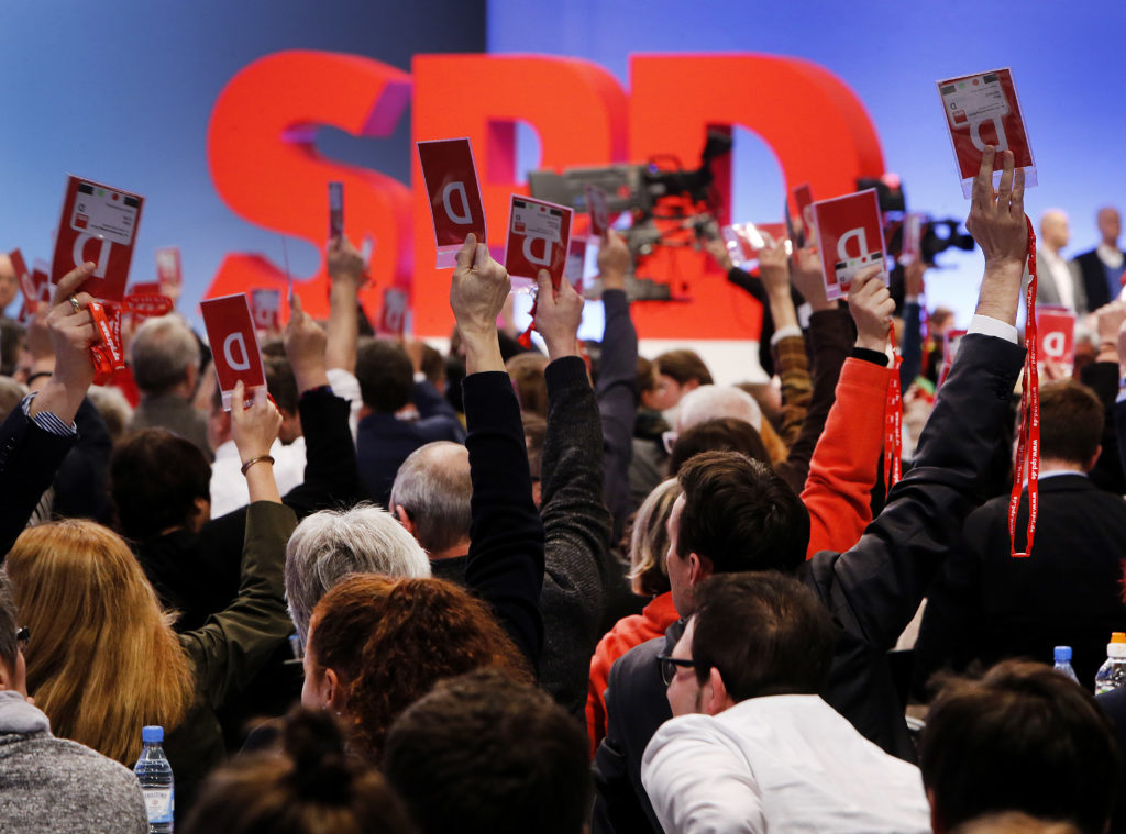 Το SPD θα ήθελε σε κυβέρνησή του εταίρους τους Πράσινους και την Αριστερά