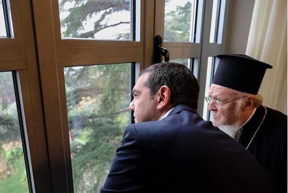 Οι πέντε φωτογραφίες που πόσταρε ο Αλέξης Τσίπρας στο Instagram από τη Χάλκη