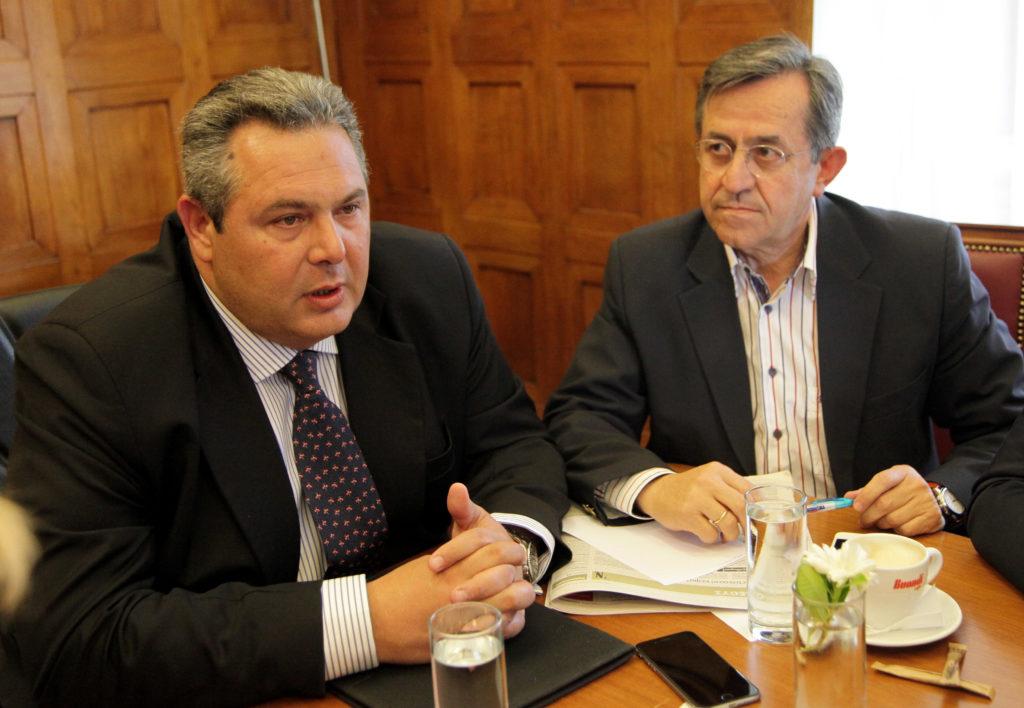 Ο Νικολόπουλος κατέθεσε μήνυση κατά του Καμμένου για εκβιασμό
