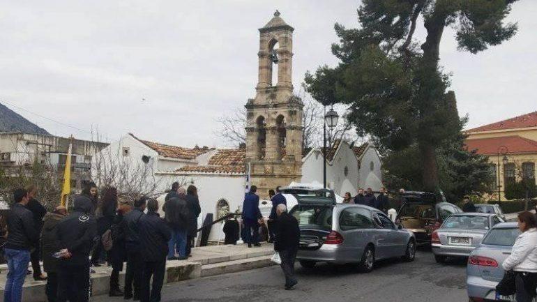 Θρήνος στη Κρήτη: Σήμερα το τελευταίο αντίο στην οικογένεια που πνίγηκε στον Γεροπόταμο