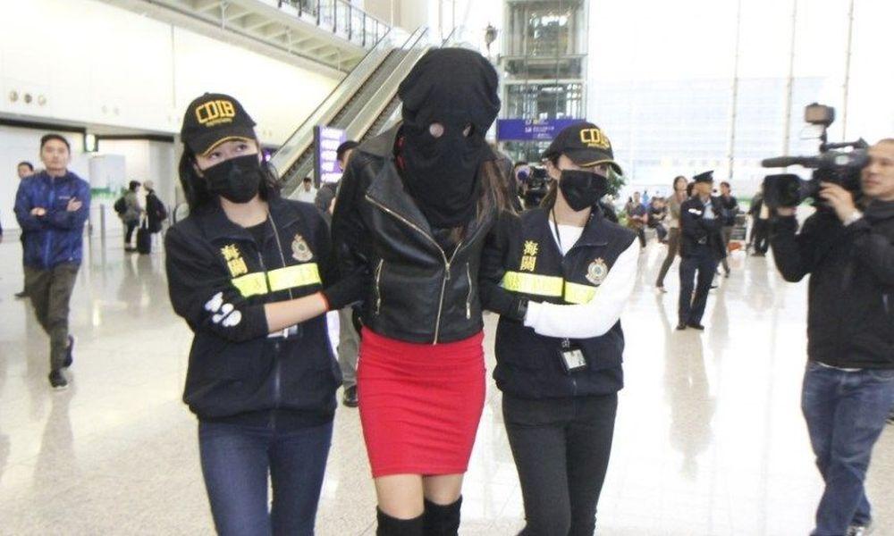 Με ισόβια απειλείται η 19χρονη Ελληνίδα μοντέλο που πιάστηκε με κοκαΐνη στο Χονγκ Κονγκ – To video της σύλληψής της
