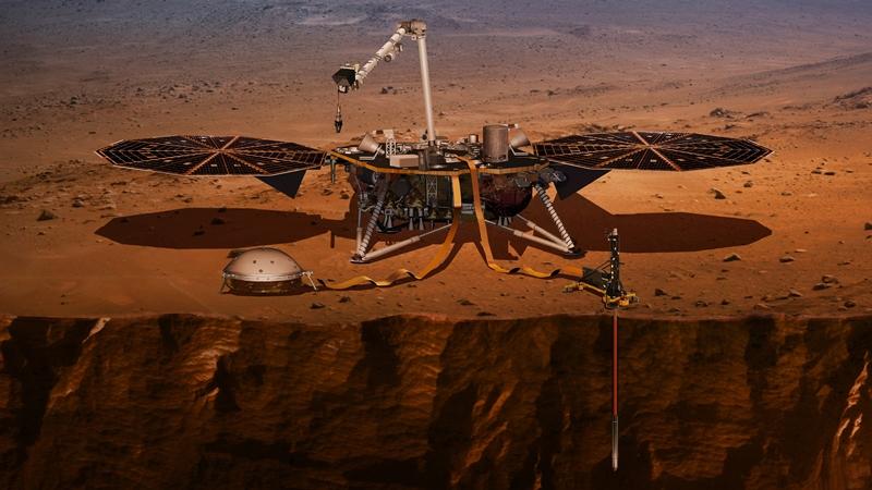 Ξεκίνησε το …σκάψιμο στον Άρη – ενδείξεις για υπόγειο δίκτυο αρχαίων λιμνών