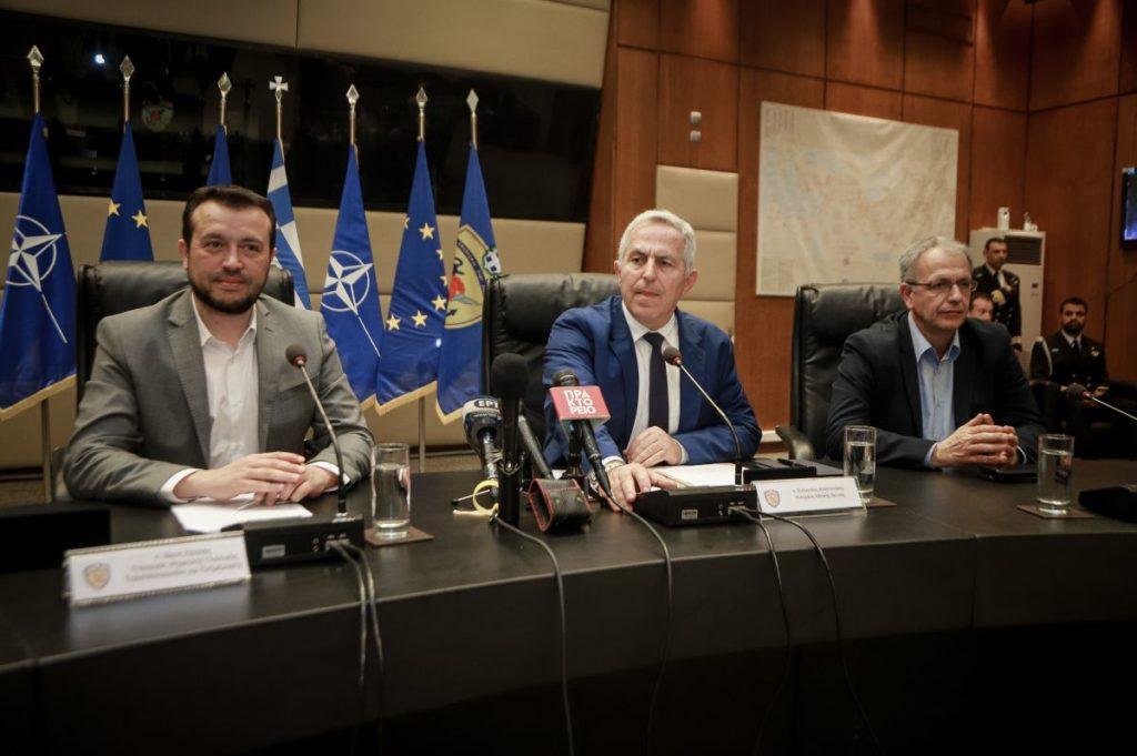 Μνημόνιο συνεργασίας υπουργείου Άμυνας και υπουργείου Ψηφιακής Πολιτικής στον τομέα του Διαστήματος (Photos)