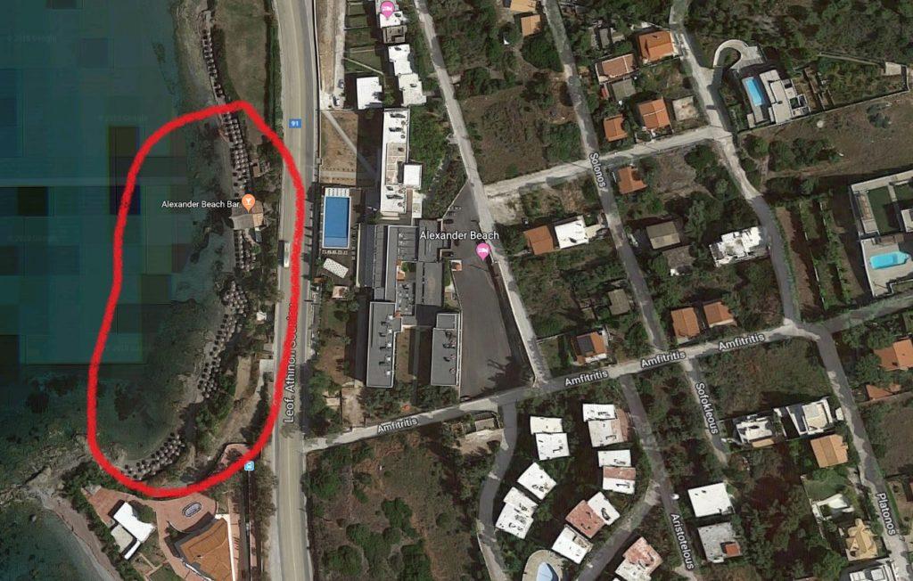 Ξεκινούν από αύριο 50 κατεδαφίσεις στην Αθηνών – Σουνίου (Photos)