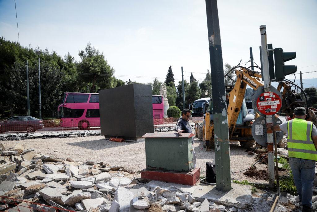 Δείτε το άγαλμα του Μεγάλου Αλεξάνδρου που θα τοποθετηθεί στο κέντρο της Αθήνας (Photos)
