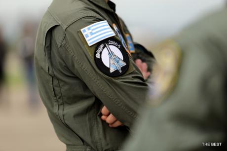 Στην Πάτρα για τον «Ηνίοχο» βρέθηκε ο Έλληνας κορυφαίος πιλότος του ΝΑΤΟ (Photos)