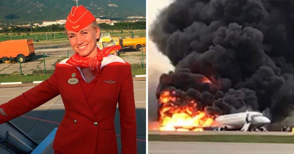 Συγκλονίζει η περιγραφή της αεροσυνοδού από το φλεγόμενο αεροσκάφος: «Τραβούσα τους επιβάτες από το γιακά»