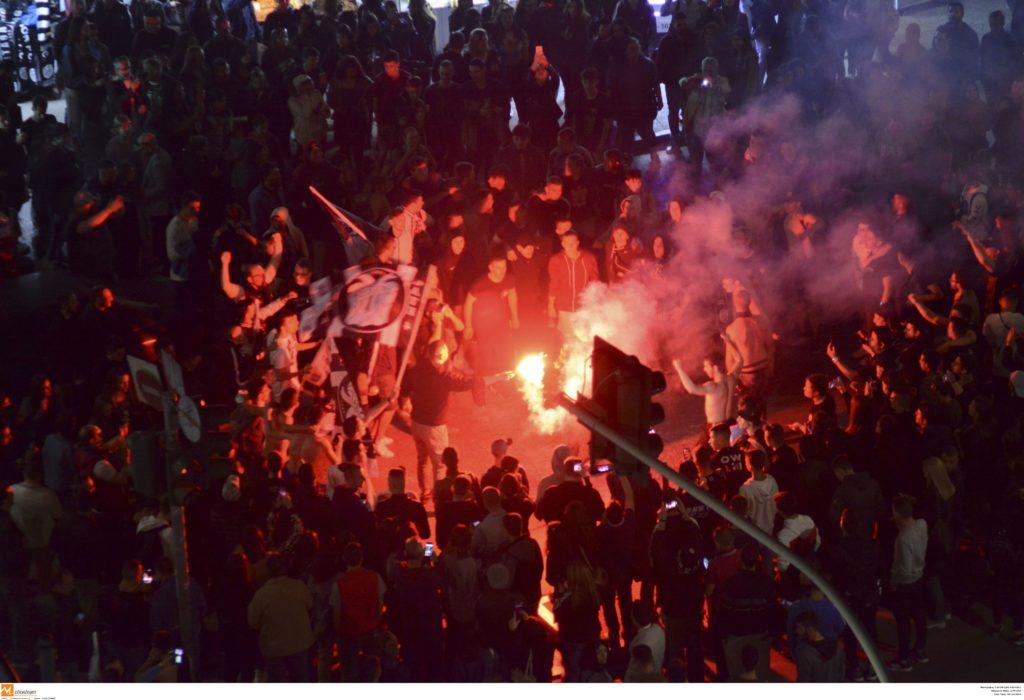 Πήρε… φωτιά ο Λευκός Πύργος μετά το πρώτο νταμπλ του ΠΑΟΚ (Photos)