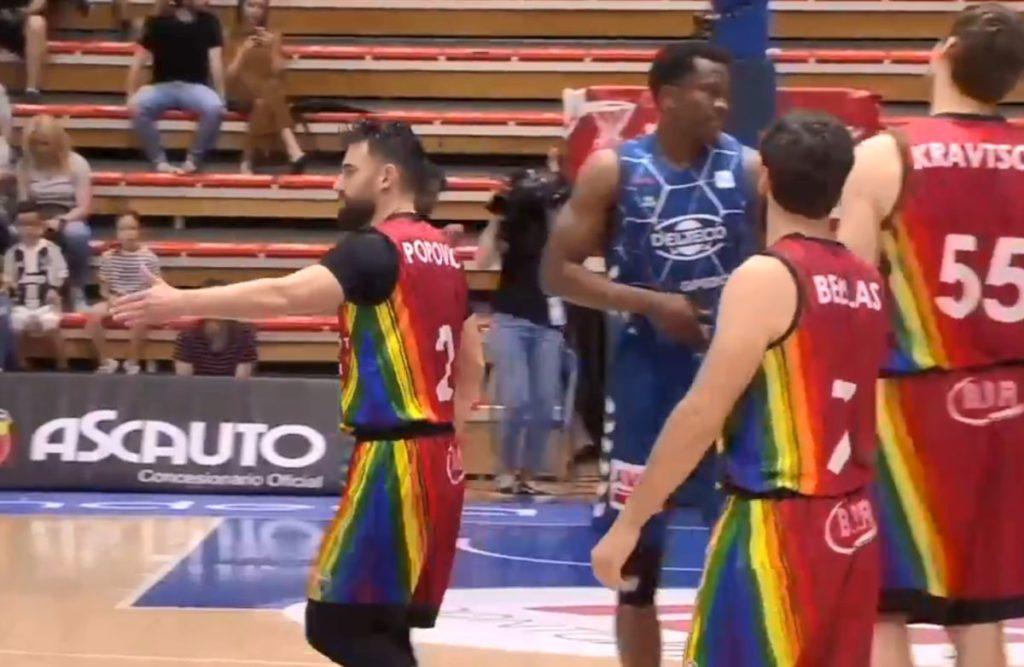 Ισπανική ομάδα ντύθηκε στα χρώματα της LGBT κοινότητας (Video)
