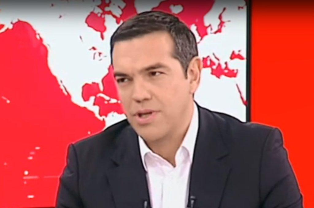 Τσίπρας στον Alpha: Οι εκλογές θα είναι ντέρμπι (Video)