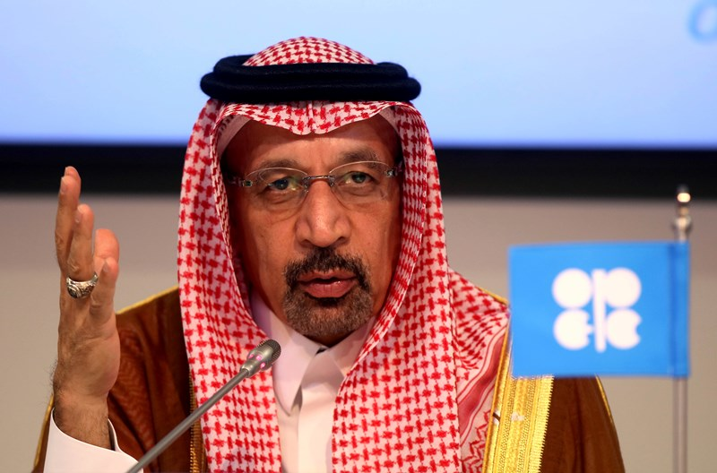 Τη μείωση των πετρελαϊκών αποθεμάτων πρότεινε ο Σαουδάραβας υπουργός Ενέργειας Χαλίντ αλ-Φαλίχ