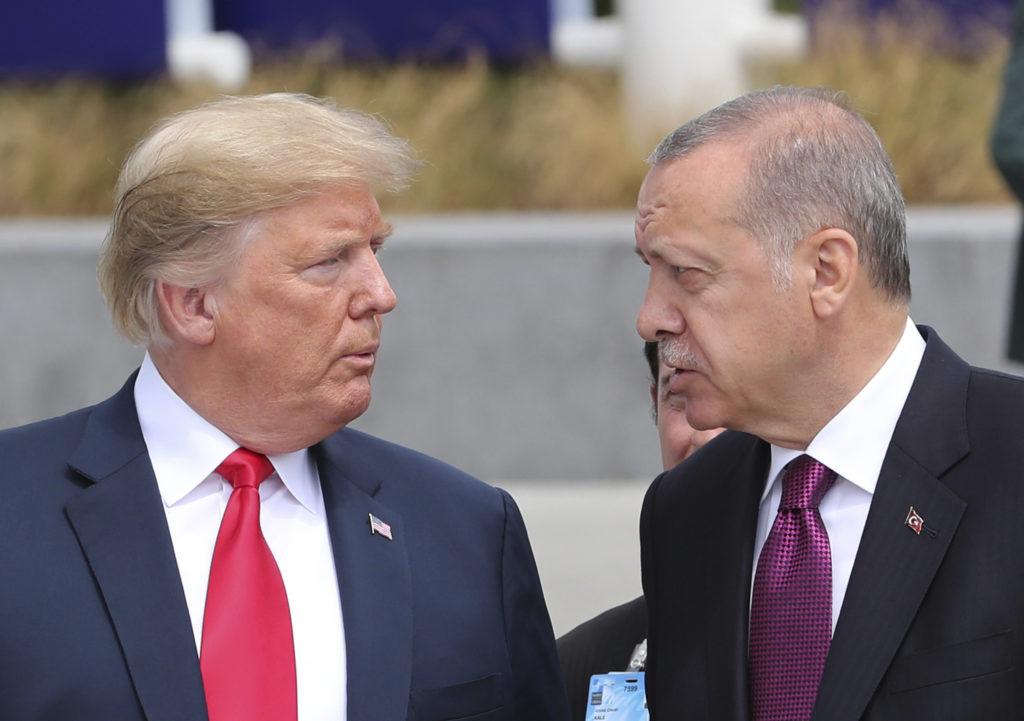 Πιθανή συνάντηση Τραμπ – Ερντογάν