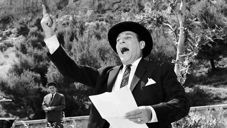 Όταν το παλιό  ελληνικό σινεμά «ψήφιζε» Γκόρτσο, Μαυρογιαλούρο και Καλοχαιρέτα