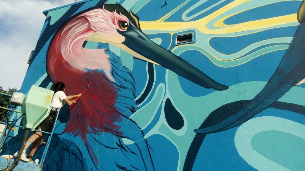 Απίστευτες τοιχογραφίες από την Urbanact στο Βόλο