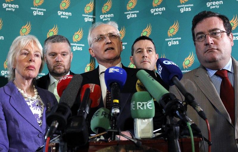Ευρωεκλογές: Σαρώνουν οι Πράσινοι στην Ιρλανδία
