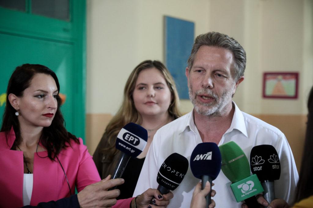 Γερουλάνος: Ψηφίζουμε για δήμαρχο, όχι για να στείλουμε μήνυμα στην κυβέρνηση ή την αντιπολίτευση (Photos)