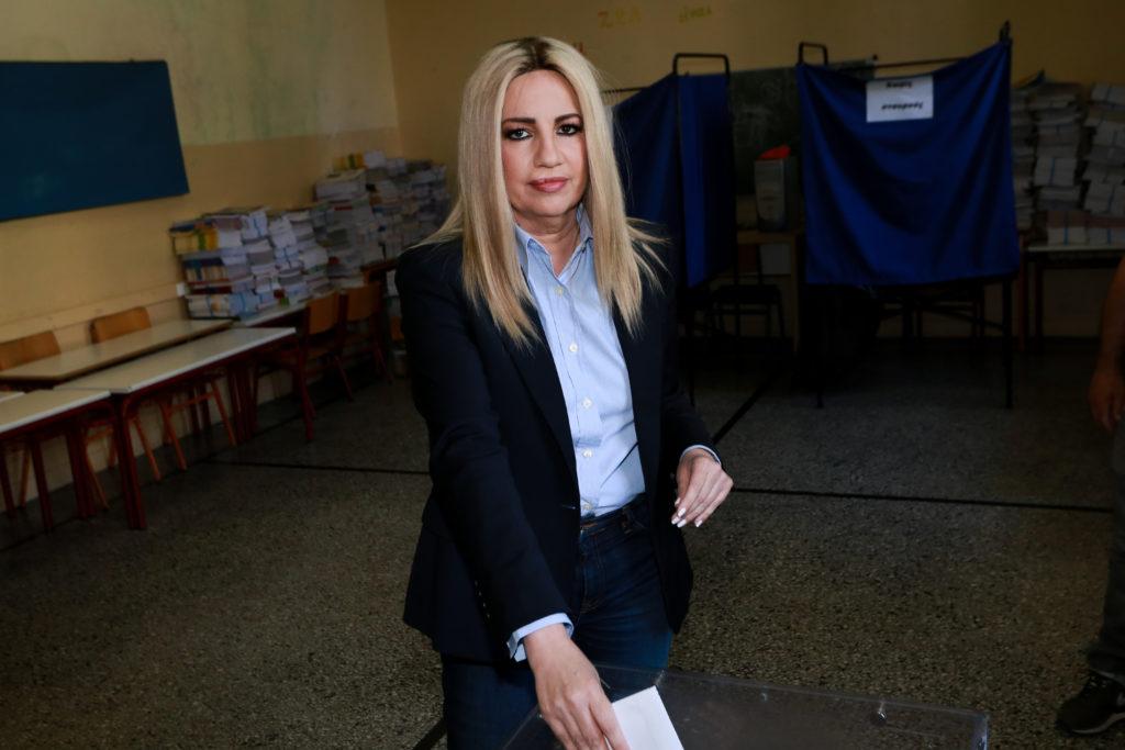 Σε Β' Αθήνας, Εύβοια και Ηράκλειο Κρήτης υποψήφια η Γεννηματά